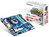 Gigabyte GA-Q77M-D2H Motherboard (Socket 1155, Intel Q77 Express, S-ATA 600, Micro ATX, PCI Express 3.0, 2x USB 3.0, Support forxpress Install and BIOS)