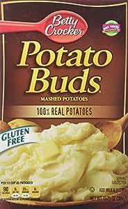 Betty Crocker Potato Buds Mashed Potatoes Gluten Free (2 pack - 28oz each box)