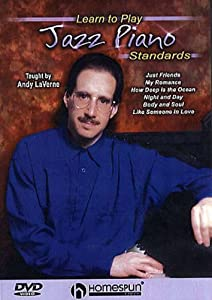DVD-Learn To Play Jazz Piano Standards