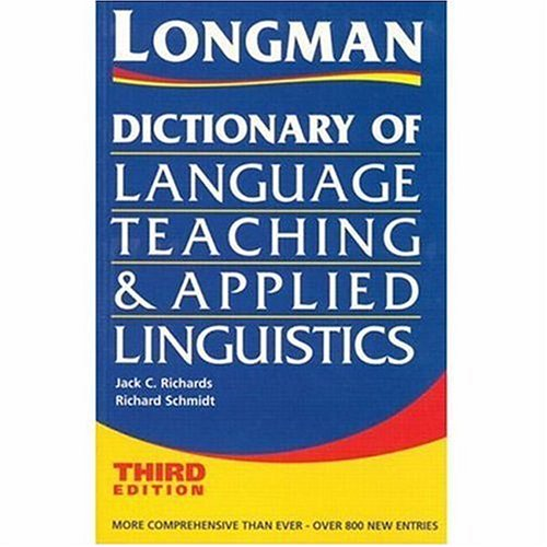 Dictionary of Language Teaching and Applied Linguistics, Third Edition