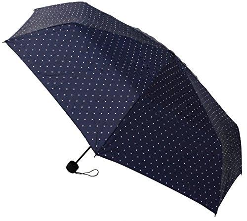 【晴雨兼用】 折りたたみ傘 収納袋入 ダイヤモンドドット ミニ 58cm MSM-014