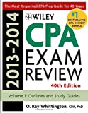 Wiley CPA Examination Review 2013-2014, Outlines and Study Guides (Wiley Cpa Examination Review Vol 1: Outlines and Study Guides) (Volume 1)