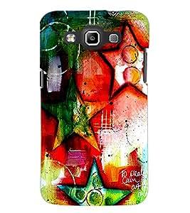 PrintDhaba Art Hub D-1244 Back Case Cover for SAMSUNG GALAXY QUATTRO (Multi-Coloured)