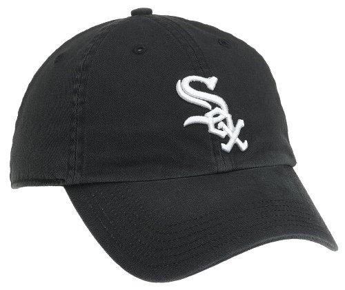 chicago white sox cap. Twins Enterprises Chicago White Sox Fitted Baseball Cap - black - size large