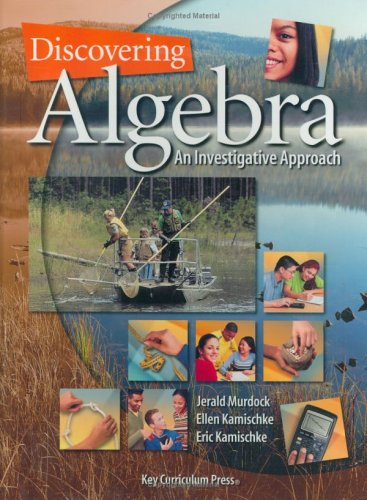 Discovering Algebra: An Investigative Approach (Discovering Mathematics)