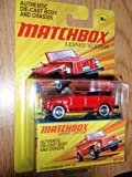 Matchbox Lesney Edition Authentic Die-Cast Body and Chasis '74 VOLKSWAGEN TYPE 181 Red Color