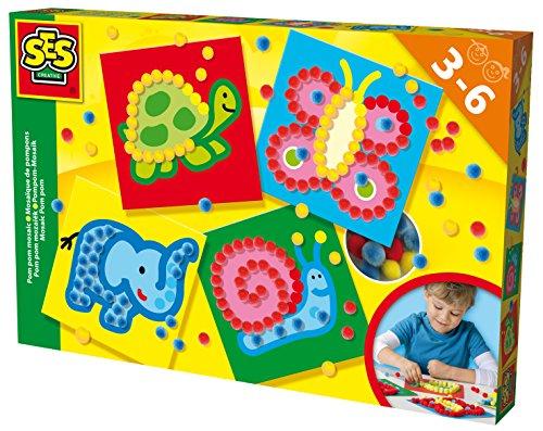ses-14611-mosaico-pompon-multicolore