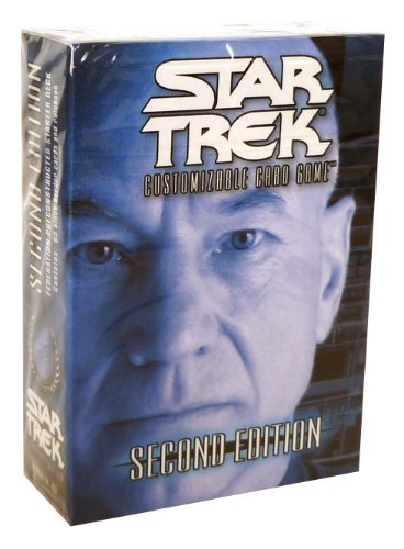 Star Trek 2nd Edition CCG Federation Captain Picard Pre-Constructed Starter Deck - 1