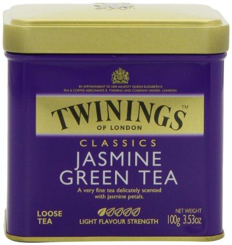 Twinings Jasmine Green Tea, Loose Tea, 3.53 Ounce Tin