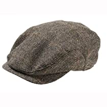 Wigens Jacob - Ivy Style Brown Herringbone Cap- 60