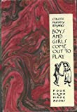 img - for Boys and Girls Come Out to Play: Four Hand Made Books book / textbook / text book