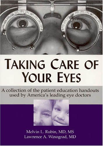 Mitzi Martin Eyes. Taking Care of Your Eyes: A