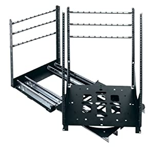 "SRSR Series 19"" D Rotating Sliding Rail System (300 Lb. Capacity) Rack Spaces: 24U Spaces"
