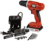Black & Decker LD120VA 20-Volt MAX Lithium-Ion Drill/Driver...