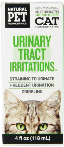 Natural Pet Pharmaceuticals by King Bio Urinary Tract Irritations Control for Cat, 4-Ounce