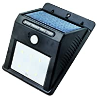Elinkume Warm White Solar Powered Motion Sensor Light,Led Wireless Night Light,Led Solar Wall Light,Led Security Light for Door,Etrance¡­ from Elinkume