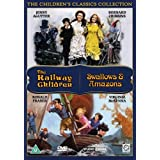 Classic Children's Films - Swallows and Amazons/The Railway Children [DVD]by Dinah Sheridan