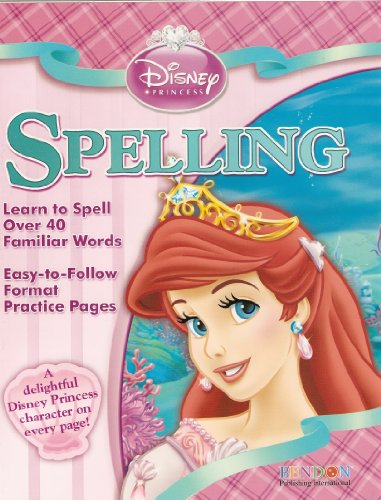 Disney Princess Spelling Workbook - 1