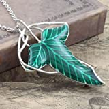 LORD of Rings Leaf Brooch Necklace Elven Fellowship Necklace LOTR Collections