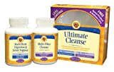 Nature's Secret Ultimate Cleanse 2-Part Program to Support Detoxification & Cleansing Tablets, Includes Wellness CD,  (2, 120-Count Bottles)