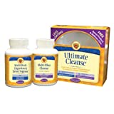 Nature's Secret Ultimate Cleanse 2-Part Program to Support Detoxification & Cleansing Tablets, Includes Wellness CD,  (2, 120-Count Bottles) ~ Nature's Secret