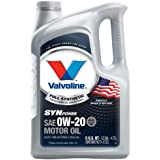 Valvoline 813460 SynPower SAE 0W-20 Full Synthetic Motor Oil - 5 Quart