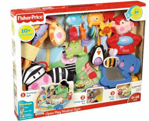 Imagen 10 de Fisher-Price - W2620  - Gimnasio abierto para animales [Importado de Alemania] (Mattel)