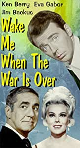 Amazon Com Wake Me When The War Is Over Vhs Ken Berry