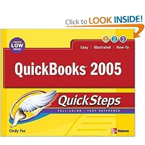 QuickBooks  QuickSteps  by Cindy Fox