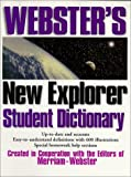 img - for Webster's New Explorer Student Dictionary book / textbook / text book
