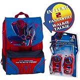 Giochi Preziosi - Mochila extensible (con walkie-talkies), diseño de Spiderman 4