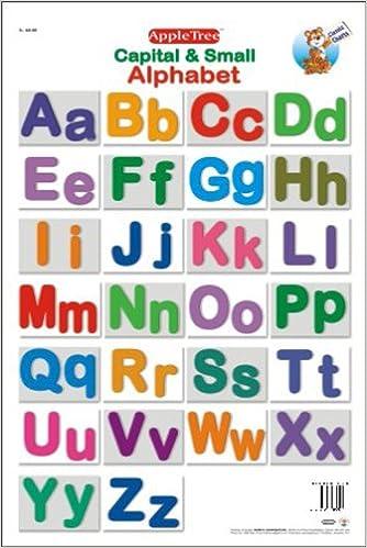 Amazon.in: Buy Educational Charts : Capital & Small Alphabet Book ...