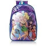 Disney Fairies Tinkerbell Purple 16 inch Backpack