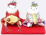 『ミニわらべちゃん雛』 お雛様/雛人形/玄関にも飾れる小型タイプ
