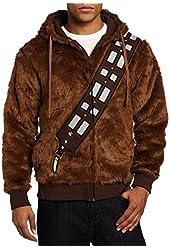 CosplaySky Star Wars I Am Chewie Chewbacca Furry Costume Hoodie Sweatshirt, EU SIZE