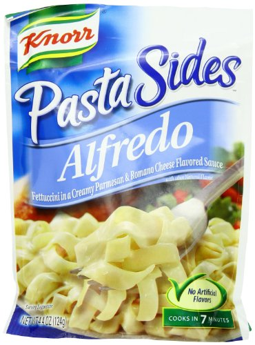 Knorr Variety Pack Of 3- Pasta And Italian Sides- Alfredo, Butter & Herb And Creamy Garlic Shells(4.4 Oz Each)