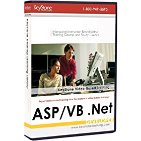 Active Server Pages (ASP)/Visual Basic (VB).NET -  Instructor-based Video Training Bundle