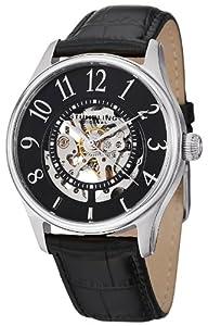 Stuhrling Original Men's 746L.SET.02 Delphi Solaris Automatic Skeleton Black Watch with Additional Strap by Stuhrling Original