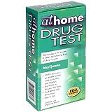 At Home Drug Test, Marijuana, 1 test (Pack of 2) ~ At Home