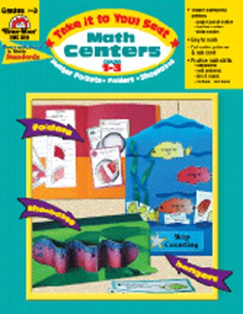 MATH CENTERS GR 1-3 TAKE IT TO YOUR - 1