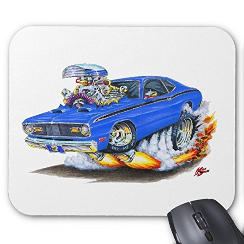 plymouth-1970-74-duster-tappetino-per-mouse-colore-blu
