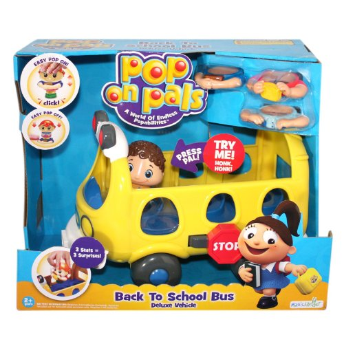 Pop On Pals - Deluxe School Bus - 1