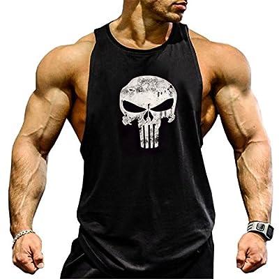 Seven Joe Men's Muscle Cut Stringer Workout T-shirt Gym Tank Top