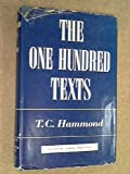 img - for The One Hundred Texts: A Manual of Theology book / textbook / text book