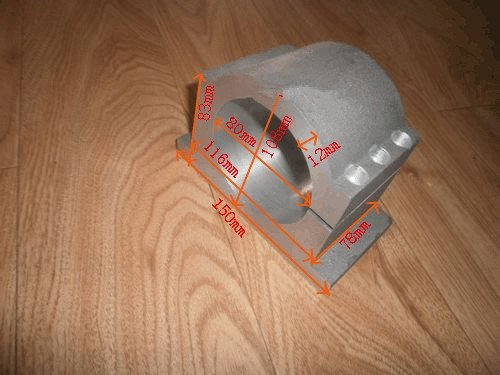 80mm Diameter Spindle Motor Mount Mounting Bracket Clamp