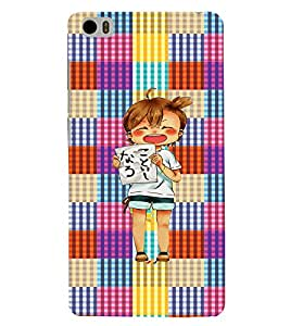 Fuson 3D Printed Cartoon Designer back case cover for Xiaomi Mi 5 - D4270
