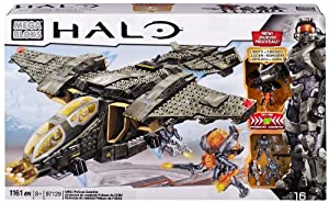 Mega Bloks Inc Mega Bloks - Halo - UNSC Pelican Gunship (Lights & Sounds) from Megabloks