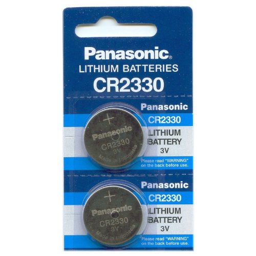 Panasonic Cr2330 Lithium Battery 3V (2 Batteries Per Pack)