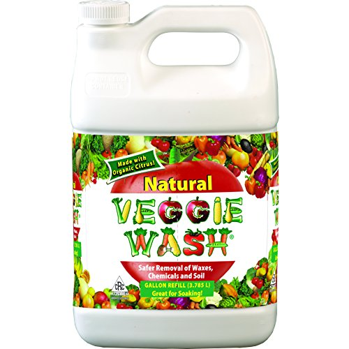 Veggie Wash All Natural Fruit and Vegetable Wash, 1-Gallon (Veggie And Fruit Cleaner compare prices)