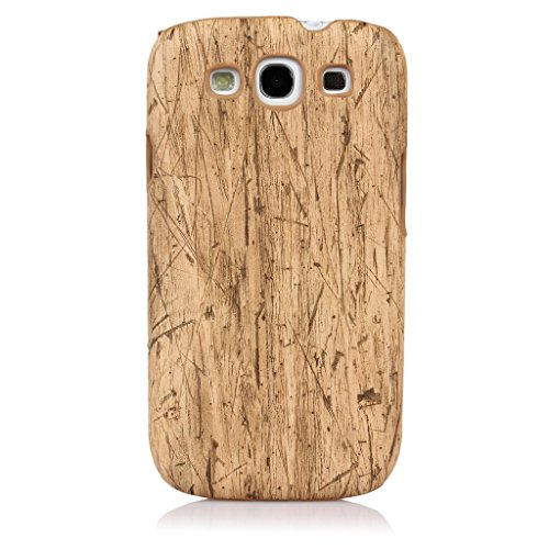 "ImagineDesign(TM) Premium Handmade "" Wooden Texture Collection "" Back Case Cover For Samsung Galaxy S3 / S3 Neo i9300 (Beach Wood Pattern)"